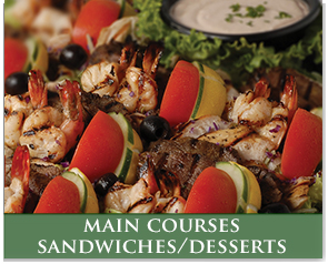 Main Courses-Sandwiches-Desserts