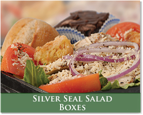 Silver Seal Salad Boxes