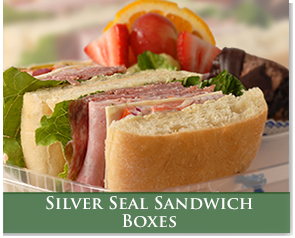 Silver Seal Sandwich Boxes